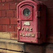 Retro fire alarm